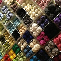 Photo taken at Lion Brand Yarn Studio by Katie D. on 1/27/2013