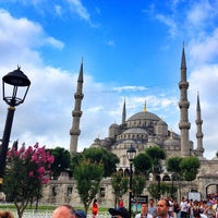 Photo taken at Blue Mosque by João A. on 7/10/2013