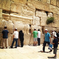Photo taken at The Western Wall (Kotel) by Álvaro on 5/10/2013