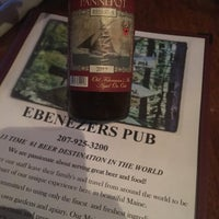 Photo taken at Ebenezer's Pub by Avery J. on 9/10/2016