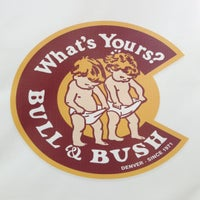 Photo taken at Bull & Bush Pub And Brewery by Avery J. on 11/1/2012
