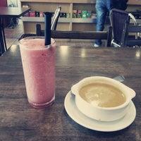 Photo taken at Bakeroni Cafe by HyeRin on 3/29/2013