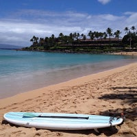 Photo taken at Napili Beach by Sut-Mie G. on 5/28/2013