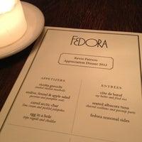 Photo taken at Fedora by Tarik H. on 12/15/2012