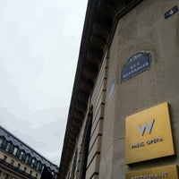 Photo taken at W Paris – Opéra by Yeonhee P. on 12/22/2012