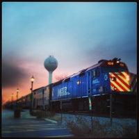 Photo taken at Metra - Roselle by H. Michael M. on 1/18/2013