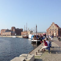 Photo taken at Hafen Wismar by Michael G. on 7/5/2013