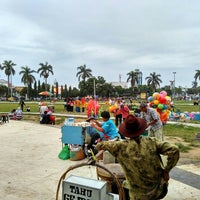 Photo taken at Alun Alun Tegal by Amalia F. on 6/15/2016