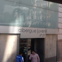 Photo taken at Albergue Juvenil Municipal de Madrid by Sarbelio H. on 11/12/2012