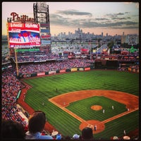 Photo taken at Citizens Bank Park by Lauren Z. on 6/23/2013