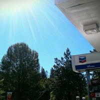 Photo taken at Chevron by Melissa A. on 6/14/2013