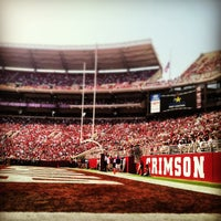 Photo taken at Bryant-Denny Stadium by Patrick R. on 4/20/2013