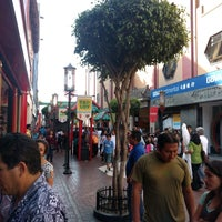 Photo taken at Calle Capón (Barrio Chino) by Kate Y. on 11/13/2016