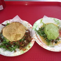 Photo taken at Tacos El Gordo by Sara H. on 7/8/2013