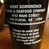 Photo taken at Great Adirondack Steak and Seafood by Teobaldo F. on 2/15/2013