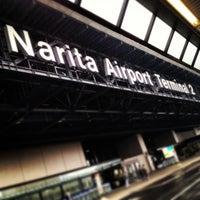 Photo taken at Narita Airport Terminal 2 by Hiroyuki F. on 2/26/2013