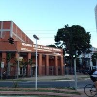 Photo taken at Teatro Escola Basileu França by Thiago H. on 10/9/2013