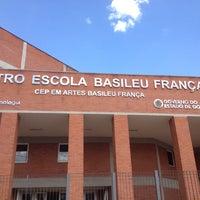 Photo taken at Teatro Escola Basileu França by Thiago H. on 10/14/2013