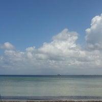 Photo taken at Playa El Paraíso by Daniel B. on 5/8/2013