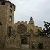 Photo taken at Monestir de Sant Cugat by Helena C. on 4/4/2013