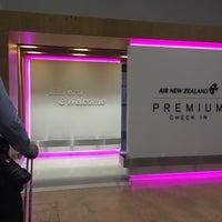 Photo taken at Air NZ Premium Check In by Ingvild M. on 8/15/2016