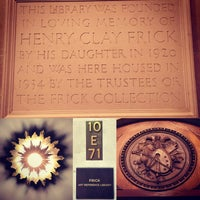 Photo taken at Frick Art Reference Library by Elizabeth on 8/12/2015