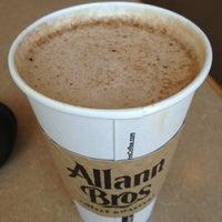 Allann Bros Coffee Menu