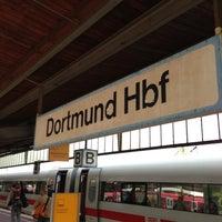 Photo taken at Dortmund Hauptbahnhof by Christopher R. on 5/3/2013