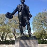 Photo taken at José Artigas Memorial by Clinton B. on 4/27/2014