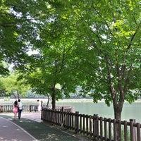 Photo taken at Yuldong Park by Il Hwan K. on 6/29/2013