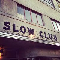 Photo taken at Slow Club by Brian W. on 4/17/2013