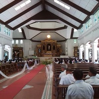Photo taken at St. Rose of Lima Church by Embi S. on 3/15/2014