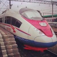 Photo taken at Kursky Rail Terminal by Dmitry B. on 7/23/2013