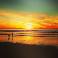 Photo taken at Ocean Beach by Azin A. on 1/21/2013