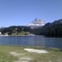 Photo taken at Lago di Misurina by Vichingo .. on 9/16/2012