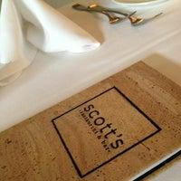 Photo taken at Scott's Restaurant & Bar by Scott G. on 3/5/2013