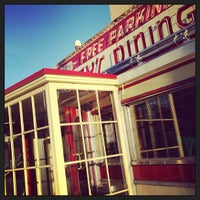 Photo taken at Mickey's Diner by Alissa F. on 3/19/2013