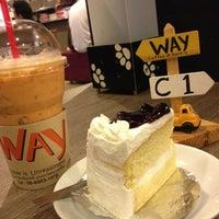 Photo taken at Way Coffee & Bakery by Manirat T. on 12/15/2012