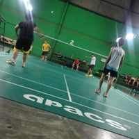 Photo taken at Dewan Badminton BCB by Dave D. on 12/11/2013