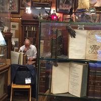 Photo taken at Caravan Bookstore by Mario V. on 6/12/2014