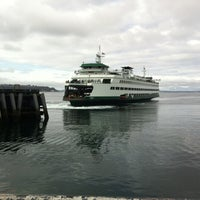 Photo taken at Seattle Ferry Terminal by Marshall C. on 2/23/2013