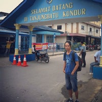 Photo taken at Pelabuhan Tanjung Batu Kundur by [S]ir` s. on 4/7/2013