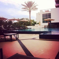 Photo taken at Eden Roc Pool by Dessy R. on 12/16/2013