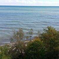 Photo taken at Beachfront Park by Karim K. on 9/21/2014
