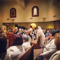 Photo taken at Holy Spirit Catholic Parish of McAllen by Monica G. on 2/16/2014