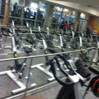 Photo taken at LA Fitness by Justin J. on 3/14/2013