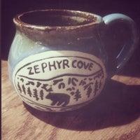 Photo taken at Zephyr Cove Restaurant by Ashley E. on 1/15/2014