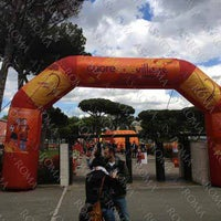 Photo taken at Cuore Sole Village by AS Roma by As Roma on 5/26/2013