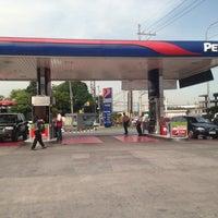 Photo taken at Petron Service Station by Armand-Joyce A. on 6/26/2013