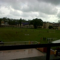 Photo taken at Stadium by Khairul I. on 12/15/2012